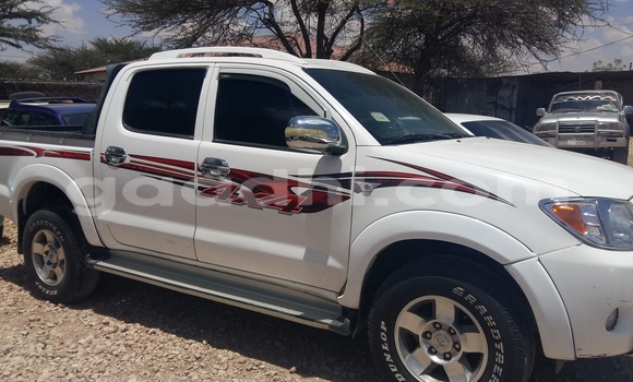 Buy New Toyota Hilux White Car in Hargeysa in Somaliland