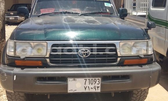 Buy New Toyota Land Cruiser Green Car in Hargeysa in Somaliland