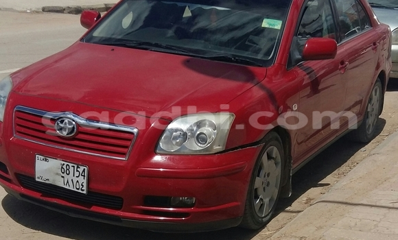Buy New Toyota Avensis Red Car in Hargeysa in Somaliland