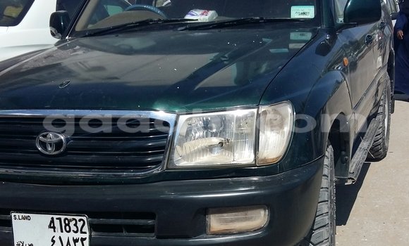Buy Used Toyota Land Cruiser Green Car in Hargeysa in Somaliland