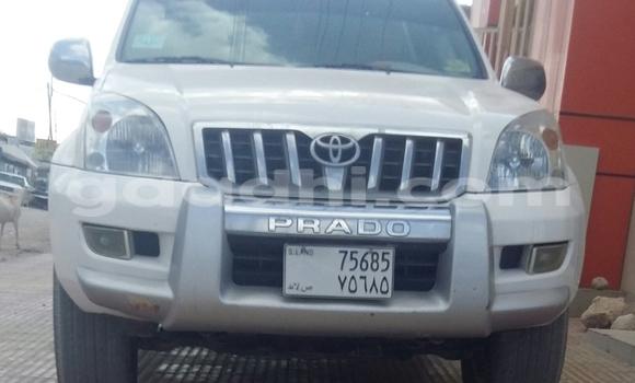 Buy Used Toyota Prado White Car in Hargeysa in Somaliland