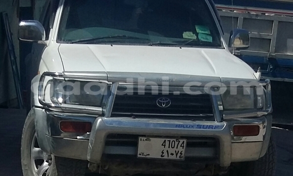 Buy Used Toyota Hilux Surf White Car in Hargeysa in Somaliland