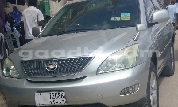 Buy Used Toyota Harrier Silver Car in Hargeysa in Somaliland