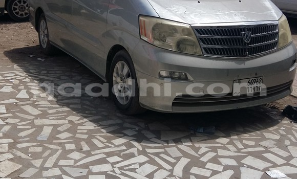 Buy Used Toyota Alphard Silver Car in Hargeysa in Somaliland