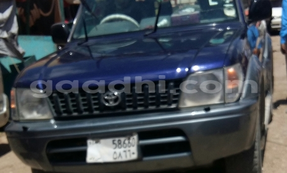 Buy Used Toyota Land Cruiser Blue Car in Hargeysa in Somaliland