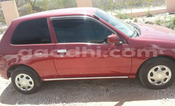 Buy Used Toyota Starlet Red Car in Mogadishu in Somalia