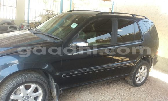Buy Used Mercedes‒Benz ML–Class Black Car in Mogadishu in Somalia