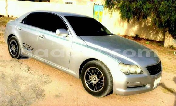 Buy Used Toyota Mark X Silver Car in Mogadishu in Somalia