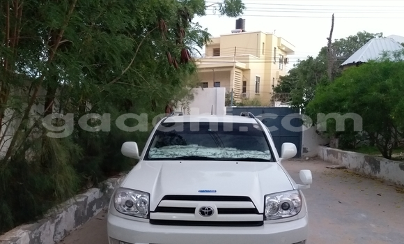 Buy Used Toyota Hilux Surf White Car in Mogadishu in Somalia