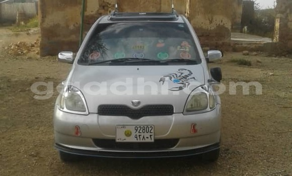 Buy Used Toyota Vitz Silver Car in Burao in Somalia