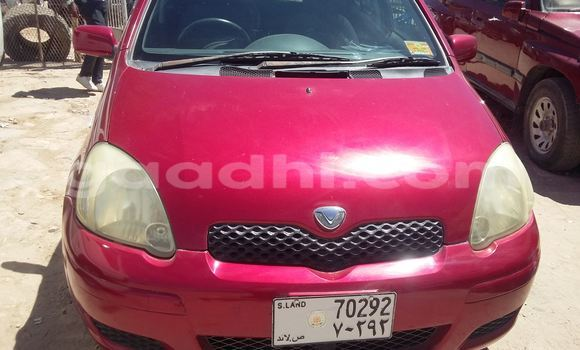 Buy Used Toyota Vitz Red Car in Hargeysa in Somaliland