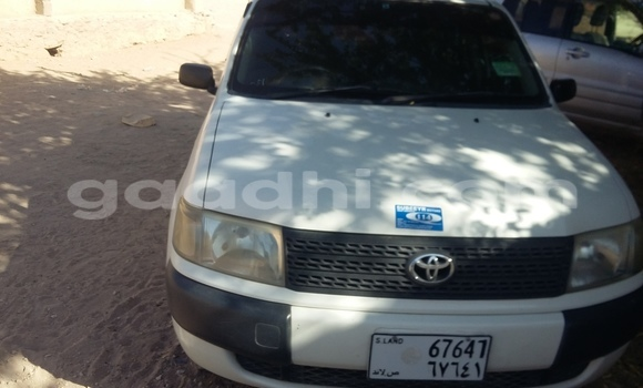 Buy Used Toyota Probox White Car in Mogadishu in Somalia