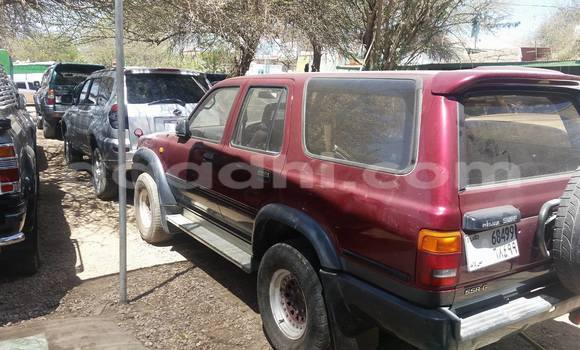 Buy Used Toyota Surf Red Car in Hargeysa in Somaliland