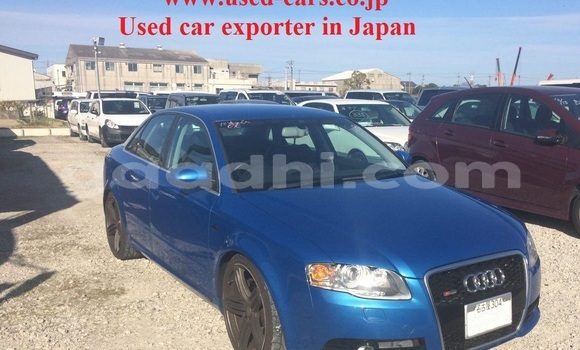 Buy Used Audi A4 Blue Car in Mogadishu in Somalia