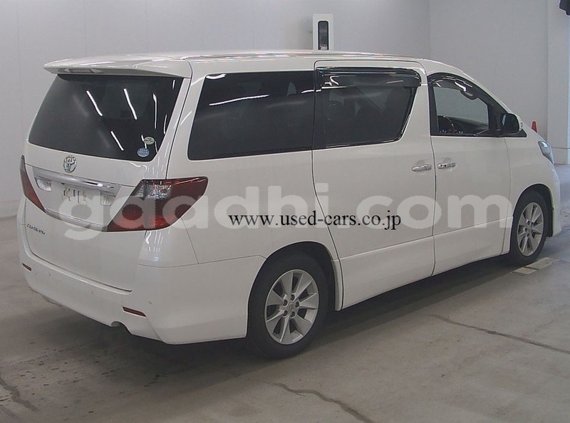 Big with watermark used car for sale in japan toyota alphard 2009 for sale 4