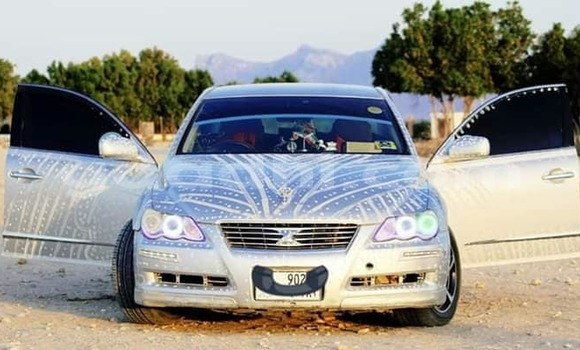 Buy Used Toyota Mark X Silver Car in Hargeysa in Somaliland