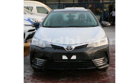 Buy Import Toyota Corolla Black Car in Import - Dubai in Somalia