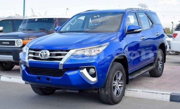 Buy Import Toyota Fortuner Blue Car in Import - Dubai in Somalia
