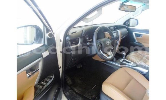 Buy Import Toyota Fortuner White Car in Import - Dubai in Somalia