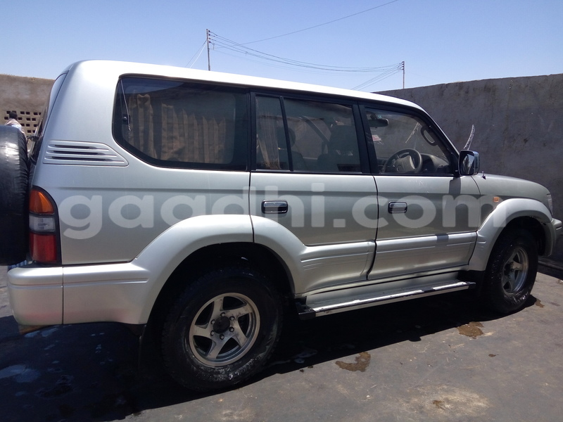 Buy Used Toyota Land Cruiser Prado Silver Car in Bosaso in