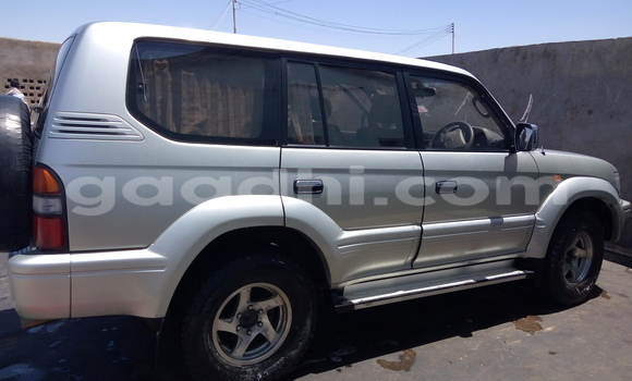 Buy Used Toyota Land Cruiser Prado Silver Car in Bosaso in Somalia