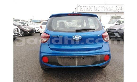 Acheter Importé Voiture Hyundai i10 Bleu à Import - Dubai, Somalie