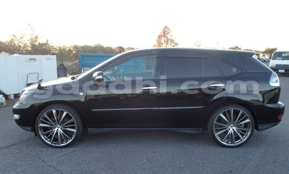 Buy Used Toyota Harrier Black Car in Mogadishu in Somalia