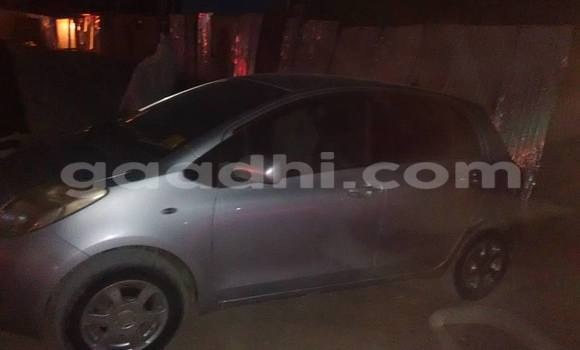 Buy Used Toyota Vitz Silver Car in Mogadishu in Somalia