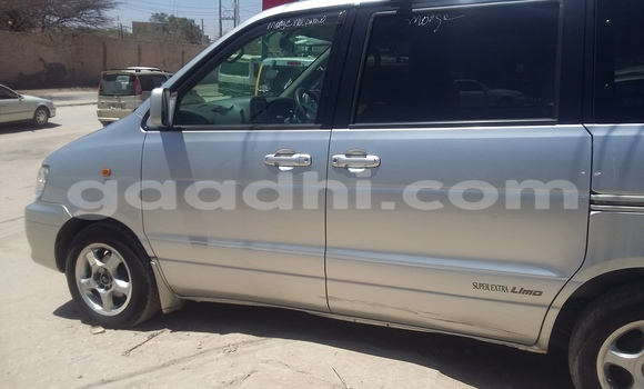 Buy Used Toyota 4Runner Silver Car in Mogadishu in Somalia