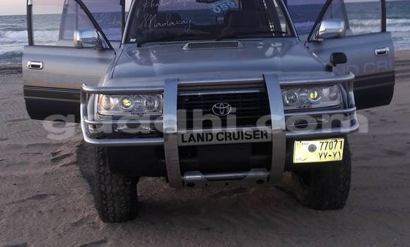 Buy New Toyota 4Runner Silver Car in Hargeysa in Somaliland
