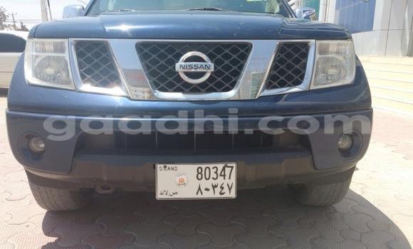 Acheter Occasion Voiture Nissan Navara Bleu à Hargeysa au Somaliland