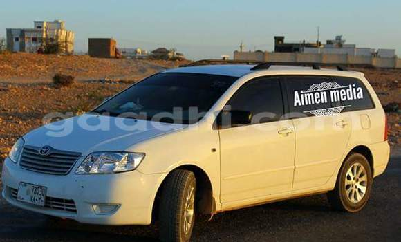 Buy Used Toyota Corolla White Car in Hargeysa in Somaliland