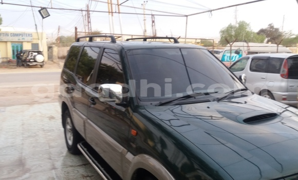 Buy Used Nissan Terrano Green Car in Hargeysa in Somaliland