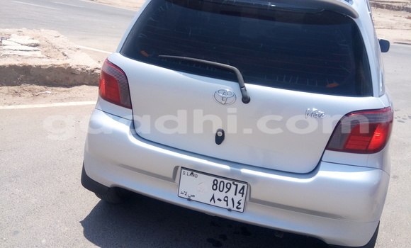 Buy Used Toyota Vitz Silver Car in Berbera in Somalia